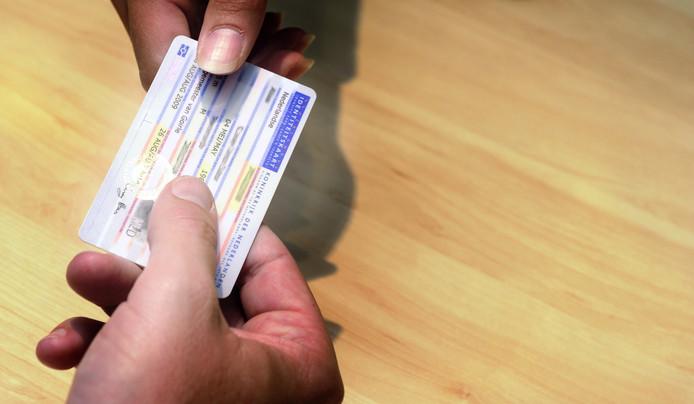 Een Nederlandse identiteitskaart