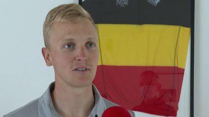 """Belgisch kampioen Tim Merlier rijdt eerste koers sinds 3 maart: """"Ik heb hier heel hard naar uitgekeken"""""""
