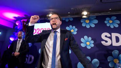 Extreemrechtse Zweden Democraten voor eerste keer ooit grootste partij in peilingen