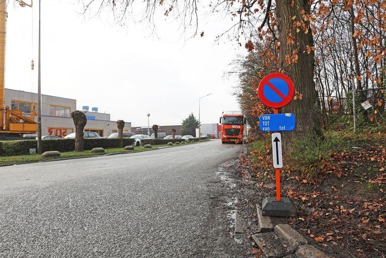 Industrielaan in Ternat.