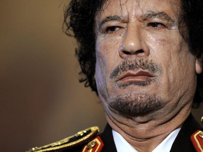 Archiefbeeld van Khadaffi uit 2009.