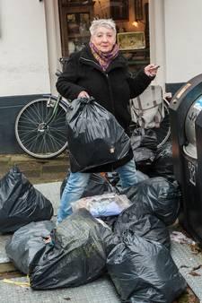 Al honderd boetes voor afval dumpen in Gouda
