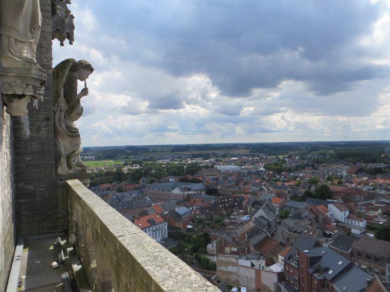 In de herfst van 2021 kan je eindeloos turen over de Haspengouwse velden. Je moet er wel zo'n 300 trappen voor trotseren.