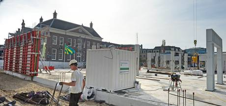 Tevredenheid op bouwplaats Centrumplein in Almelo