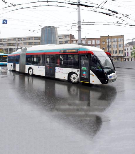 Rijden er vanaf 2020 trolleybussen naar Wageningen?