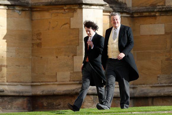 Stephen Fry en zijn echtgenoot.