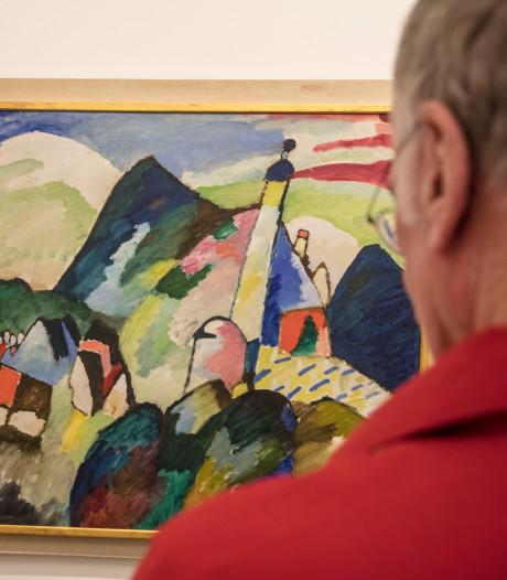 Joodse familie doet beroep op minister in gevecht om schilderij Kandinsky