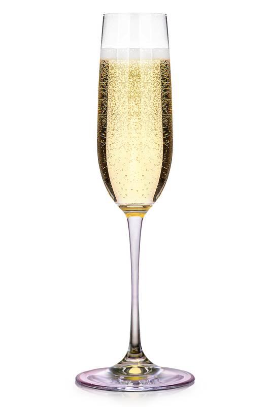 Hét glas voor bubbels: de flute.