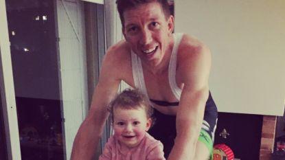 Amerikaans toptalent Adrien Costa stopt met wielrennen - Het schattige kiekje van Sep Vanmarcke en dochtertje Lucie