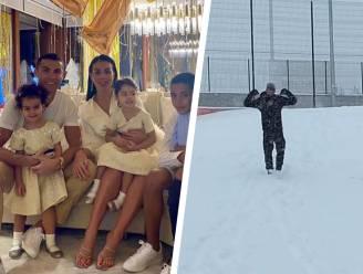 Zo gingen vedetten (in hun bubbel) 2021 in: Ronaldo viert met gezin, Djokovic bokst in de sneeuw