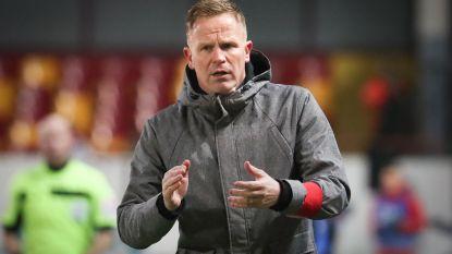 """KVM-coach Vrancken: """"Waarom ik opstapte tijdens persconferentie na match tegen Beerschot-Wilrijk? Ik wilde niet meedoen aan dat circus"""""""