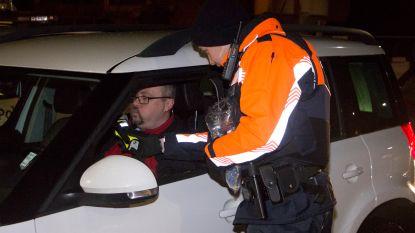 Achttien bestuurders onder invloed van alcohol