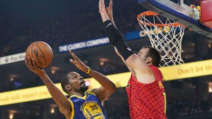 VIDEO. Golden State ziet Durant en Thompson uitblinken, Cleveland weet weer wat winnen is