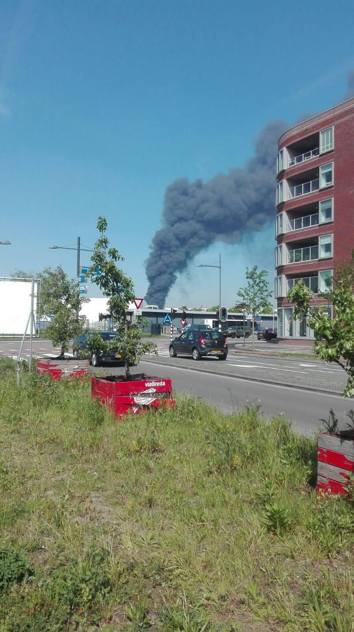 Grote brand Mijkenbroek.