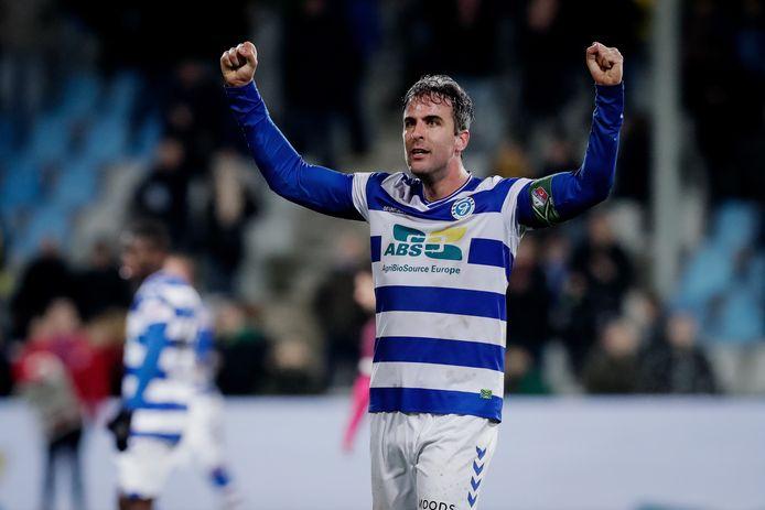 Vrijdag 10 januari: Ralf Seuntjens heeft De Graafschap diep in blessuretijd voorbij Jong FCUtrecht geholpen: 2-1.
