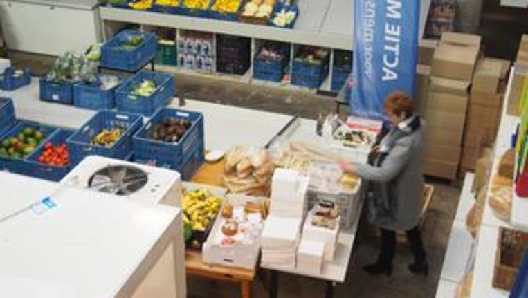 Actie MIN zorgt onder meer voor voedselbedeling.