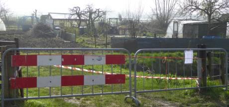 Volkstuinen in Lopik op slot vanwege asbest