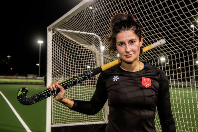 Tegen Eindhoven kan Claire Bloem na lang blessureleed haar rentree maken in een officiële wedstrijd voor de hockeyvrouwen van Breda.