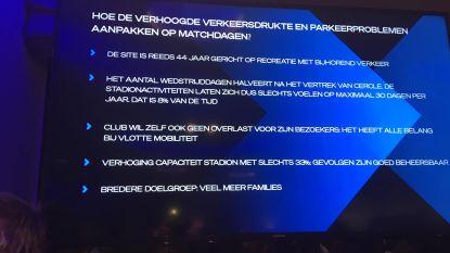 """Club Brugge probeert buurtbewoners gerust te stellen: """"Extra aandacht voor akoestiek en verlichting in nieuw stadion"""""""