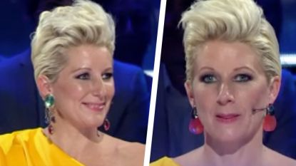 Waarom Joanna plots andere oorbellen droeg in 'Dancing with the Stars'