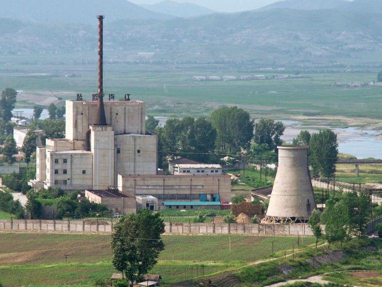 De nucleaire site in Noord-Korea waar plutonium gemaakt wordt voor kernwapens. Hier gebruiken ze de techniek die ook in de opwerkingsfabriek in ons land werd gebruikt.