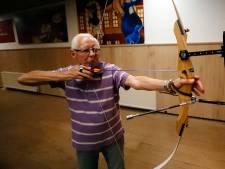 Clubhart: Cor van den Boer (82) uit Dommelen schiet nog steeds het liefst elke week met scherp