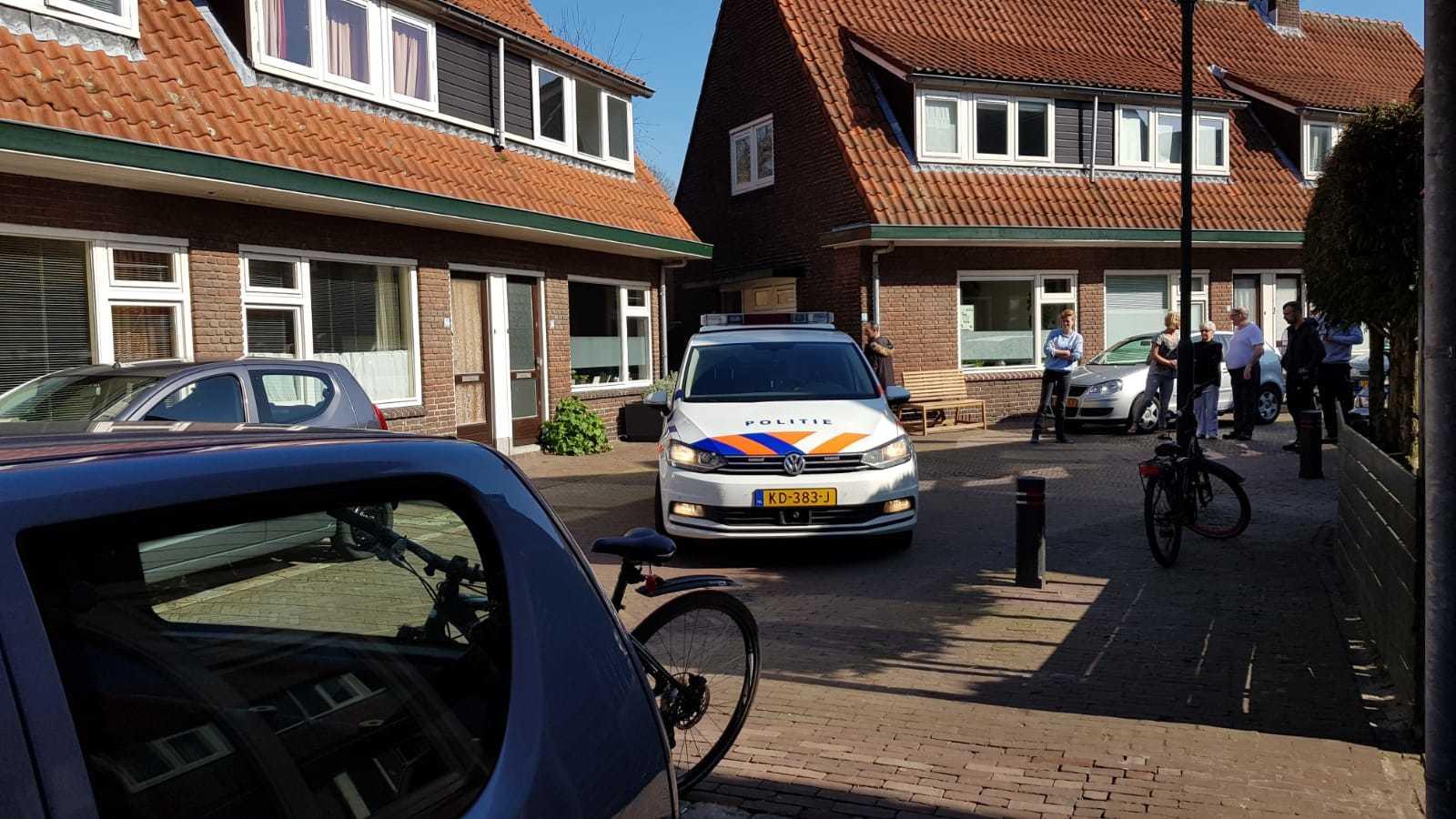 De 34-jarige Amersfoorter is meegenomen naar het politiebureau.