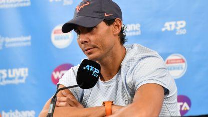Blessureperikelen voor Nadal twee weken voor Australian Open - Murray naar huis in tweede ronde Brisbane