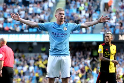 City vernedert Watford na sensationele eerste 18 minuten, De Bruyne maakt weer indruk met goal en twee assists