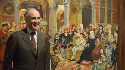 Prins Lorenz bezoekt Museum Hof van Busleyden