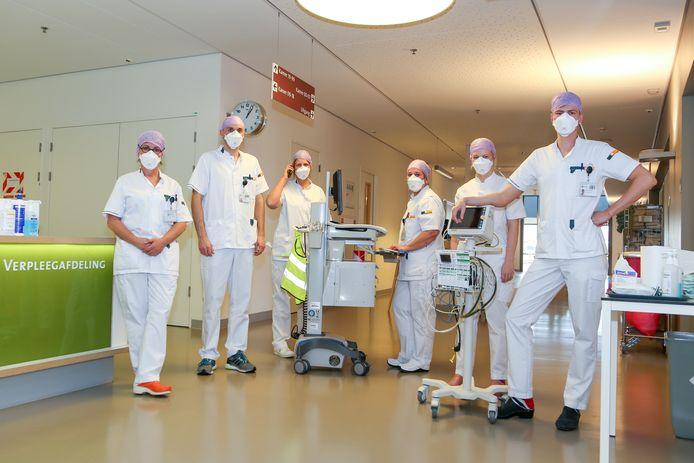 In het Meander Medisch Centrum is de IC-capaciteit nog net voldoende om alle covid-19 patiënten op te vangen.