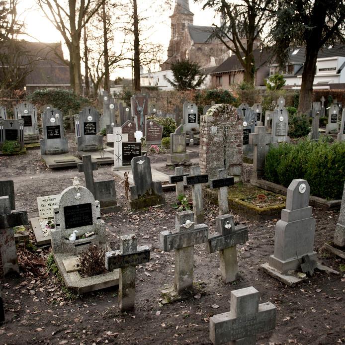 Begraafplaats Binnentuin is nu gedenkpark.