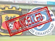 Burgemeester Deventer zet streep door duel GA Eagles-De Graafschap: 'Maar geen vooropgezet plan'