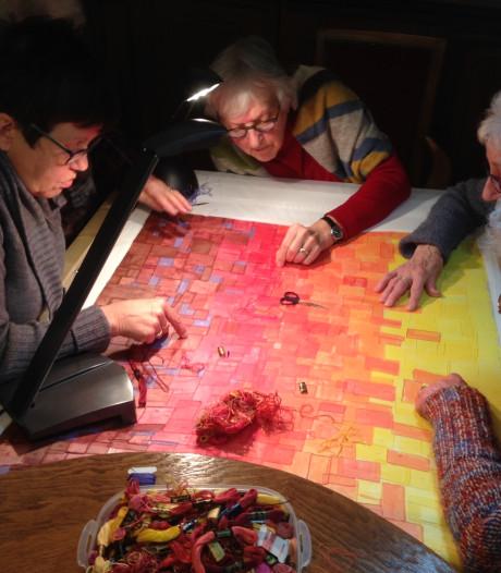 Monnikenwerk in Deurne: een nieuwe zomerjurk voor Maria