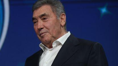 """Merckx: """"Ik ben nog geen 100%"""", vrouw Claudine:  """"Blij dat hij hier kan zijn"""""""