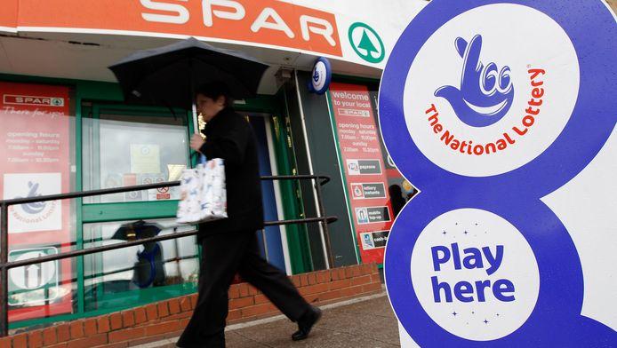 Volgens enkele Britse media zou het winnende lot in deze Spar-supermarkt in Coventry zijn gekocht.