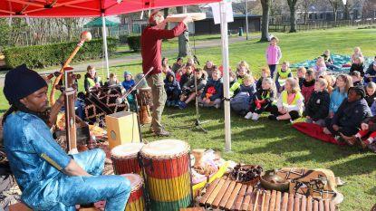 800 leerlingen worden getrakteerd op wereldfeest