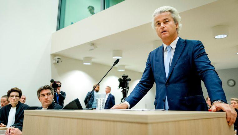 Geert Wilders had vandaag het laatste woord. Beeld anp