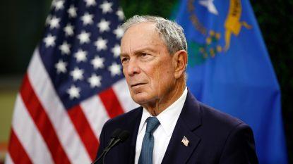 Oud-burgemeester van New York Michael Bloomberg overweegt gooi naar het presidentschap