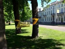 Kap van bomen in park Lauwersgracht gaat zeker nog enkele maanden duren