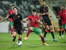 Jong Portugal weerhoudt Jong Oranje van honderd procent score