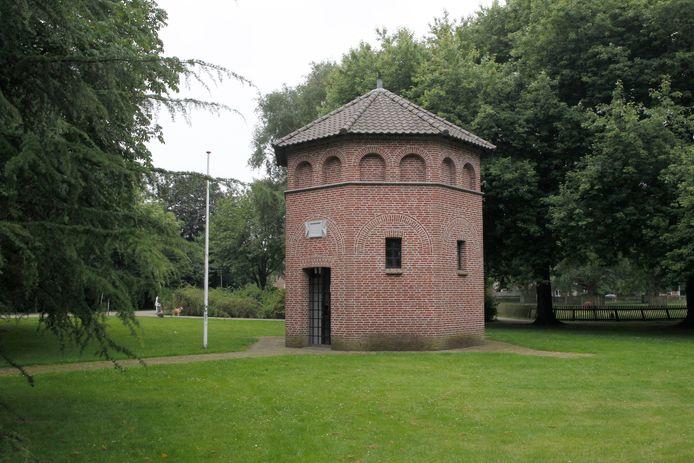 De Sint Jozef Gedachteniskapel in het Hortensiapark in Helmond.