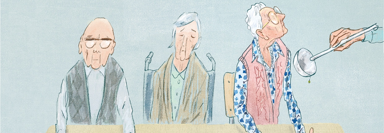 '1 op de 5 bejaarden is ondervoed' Beeld