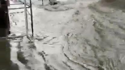 Felle overstromingen op Sicilië na hevige regenval