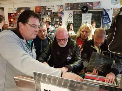Internationale Record Store Day in Breda: ik stond hier al om kwart voor zes