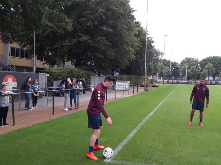Portugese verdediger João Queirós op proef bij Willem II