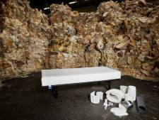 Auping lost recycle-probleem matrassen op