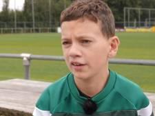 Hugo (14) heeft een beperking en voetbalt in de eredivisie<br>