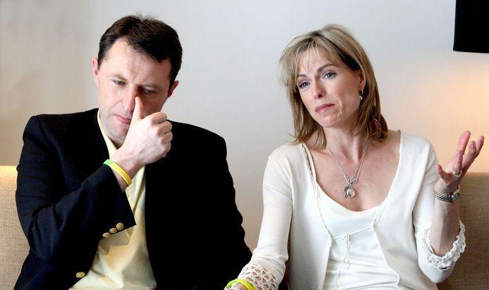Gerry en Kate McCann in 2008.