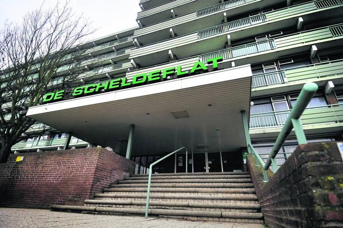 De Scheldeflat in Bergen op Zoom.